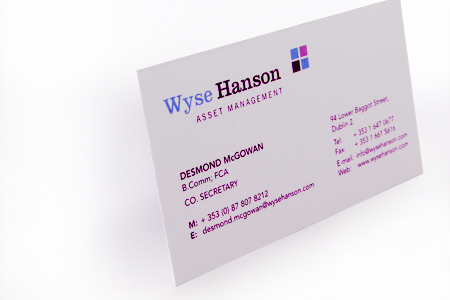 Wyse Hanson Business Cards